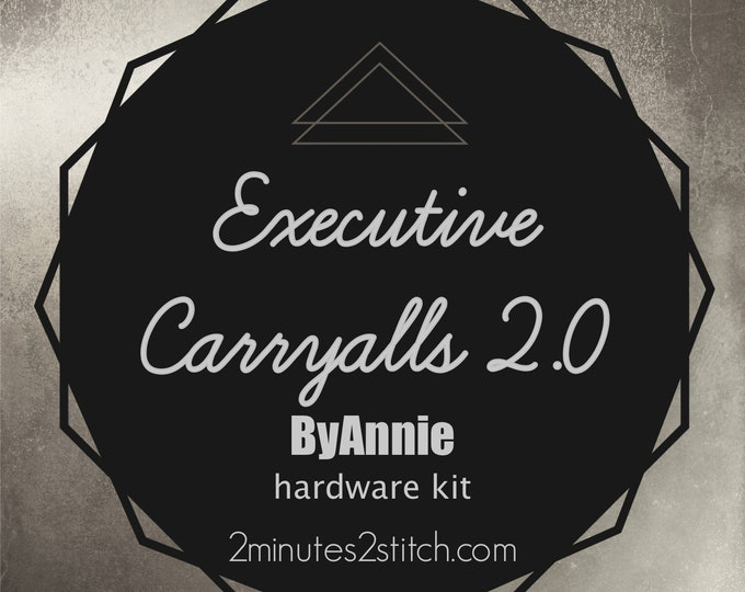 Executive Carryalls 2.0 ByAnnie - Hardware Kit Only
