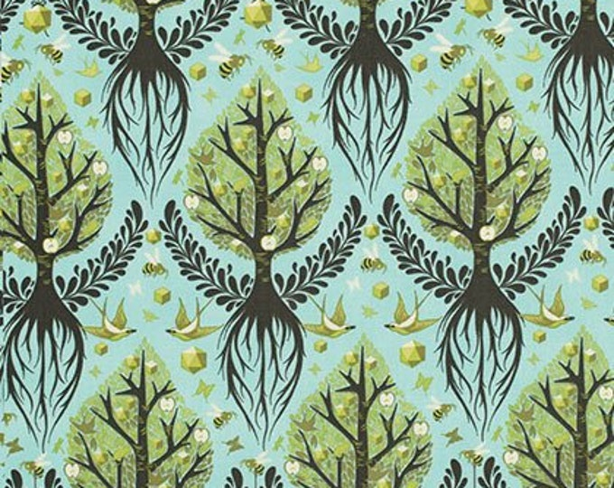The Birds and The Bees by Tula Pink - Tree of Life Pool PWTP025 - Cotton Woven Fabric