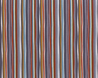Into The Woods by Michael Miller - Straight Path Stone - Cotton Woven Fabric