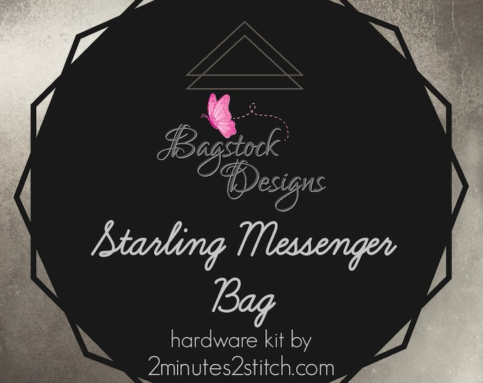 Starling Messenger Bag - Bagstock Designs - Hardware Kit Only