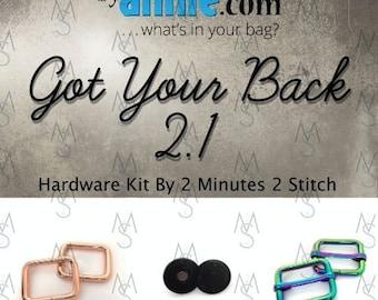 Got Your Back 2.1 - ByAnnie - Hardware Kit by 2 Minutes 2 Stitch