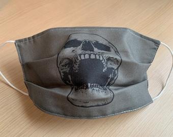 Adult Face Mask - Pleated Face Mask - Handmade Mask - Reusable Mask - Washable Mask - Non-Medical