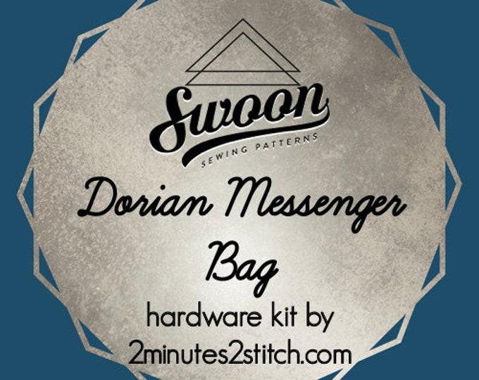 Dorian Messenger Bag - Swoon Patterns - Hardware Kit by 2 Minutes 2 Stitch