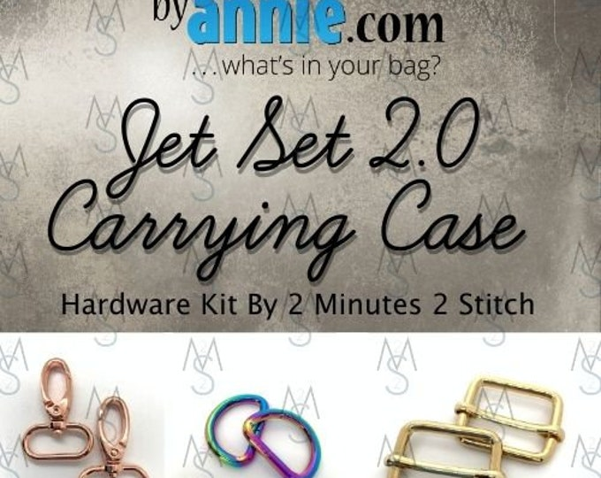 Jet Set 2.0 Carrying Case - ByAnnie - Hardware Kit by 2 Minutes 2 Stitch