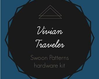 Vivian Traveler - Swoon Hardware Kit - Rectangle Rings