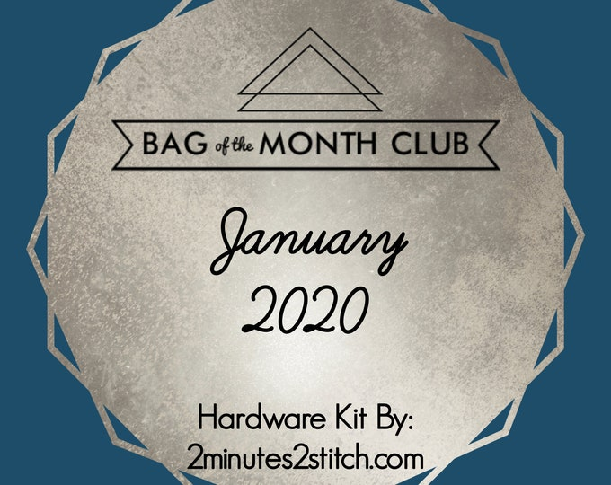 Bag of the Month Club - January 2020 Hardware Kit - Lockwood & Webb Designs