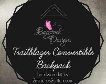 Trailblazer Convertible Backpack - BagStock Designs - Hardware Kit Only