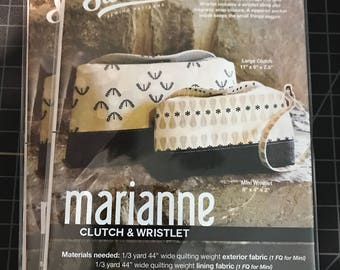 Marianne Clutch & Wristlet Swoon Patterns - Bag Pattern