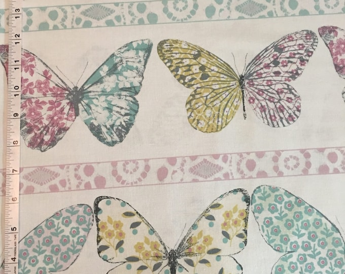 Butterfly Row by Michael Miller - Butterfly Row Confection - Cotton Woven Fabric