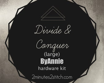 Divide & Conquer (large size) ByAnnie - Hardware Kit Only