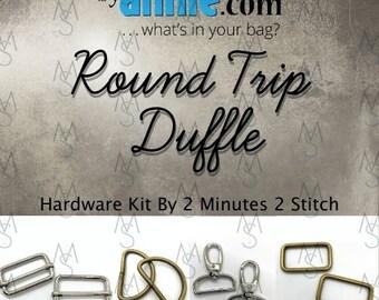 Round Trip Duffle - ByAnnie - Hardware Kit by 2 Minutes 2 Stitch