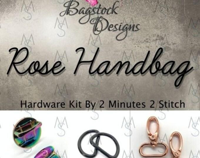 Rose Handbag - Bagstock Designs - Hardware Kit Only