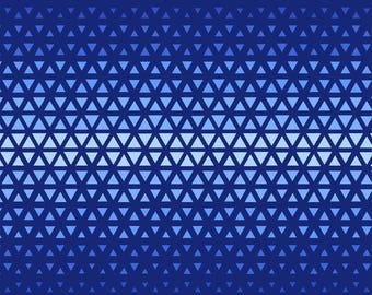 Elements by Windham - Midnight Triangle Ombre - Cotton Woven Fabric