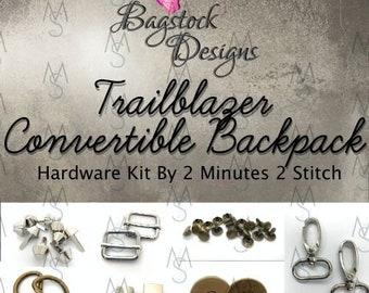 Trailblazer Convertible Backpack - BagStock Designs - Hardware Kit Only