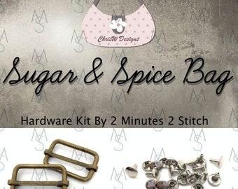 Sugar & Spice - Chris W Designs - Hardware Kit Only