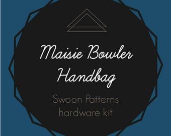 Maisie Bowler HandBag - Swoon Hardware Kit - Rectangle Rings