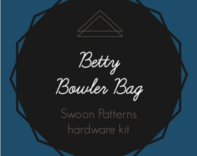 """Betty - Swoon Hardware Kit - 1"""" Rectangle Rings"""