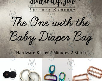 The One with the Baby Diaper Bag - Sincerely, Jen - Hardware Only