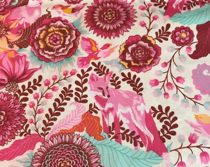 Foxfield by Tula Pink - Foxtrot Sunrise PWTP0045- Cotton Woven Fabric