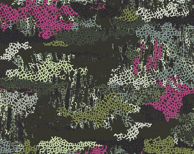Esoterra by Art Gallery Fabrics - Camouflage Mimicries - Cotton Woven Fabric - FAT QUARTER