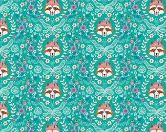 Vienna by Riley Blake - Vienna Main Green - Cotton Woven Fabric - FAT QUARTER