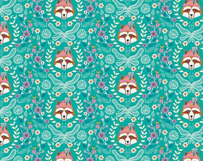 Vienna by Riley Blake - Vienna Main Green - Cotton Woven Fabric