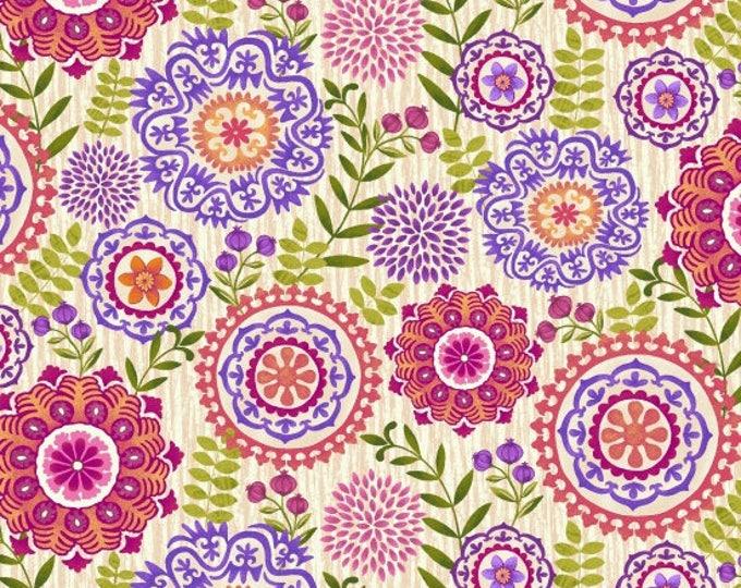 Enchanted by Studio E - Medallions Cream - Cotton Woven Fabric
