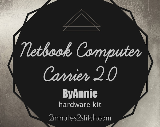 Netbook Computer Carrier 2.0 Bag ByAnnie - Hardware Kit Only