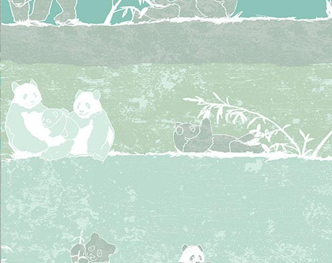 Pandalicious by Art Gallery - Panda Says Yum - Cotton Woven Fabric