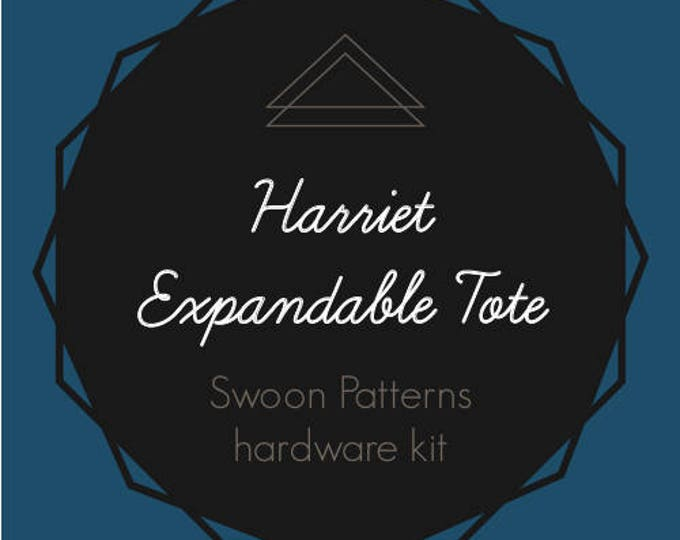 Harriet Expandable Tote - Swoon Hardware Kit