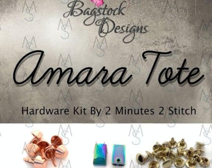 Amara Tote - BagStock Designs - Hardware Kit Only