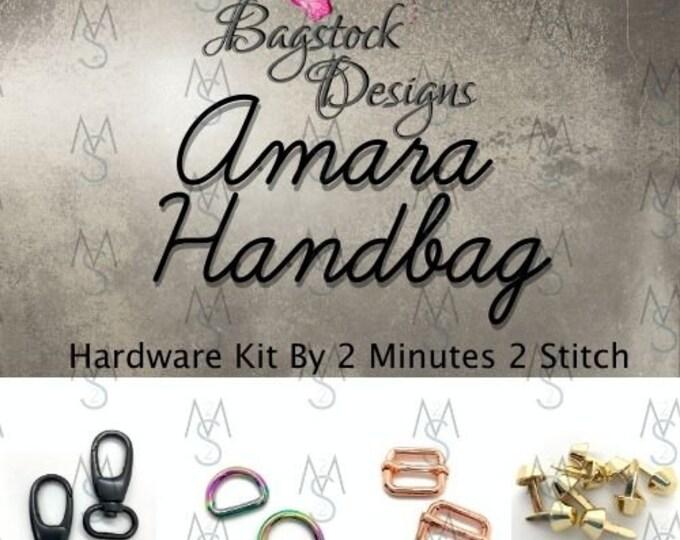 Amara Handbag - BagStock Designs - Hardware Kit Only