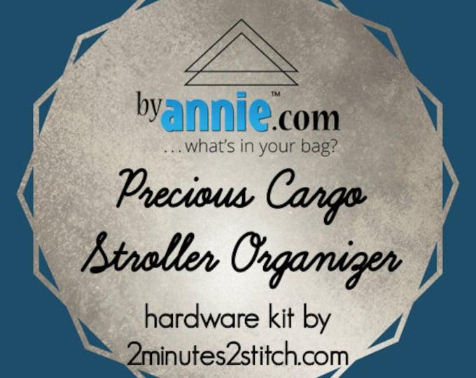Precious Cargo Stroller Organizer - ByAnnie - Hardware Kit by 2 Minutes 2 Stitch