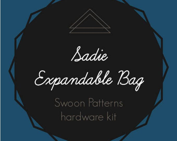 Sadie Expandable Bag - Swoon Patterns - Hardware Kit