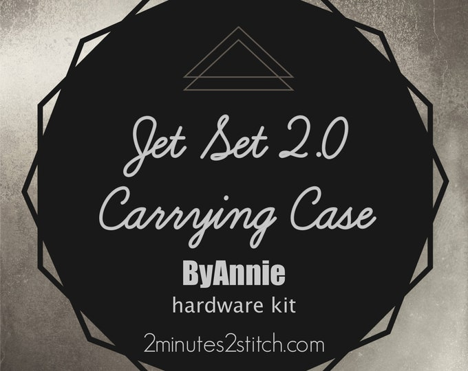Jet Set 2.0 Carrying Case ByAnnie - Hardware Kit Only