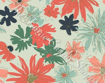 Woodlands Fusion by Art Gallery Fabrics - Ink Outburst Woodlands - Cotton Woven Fabric
