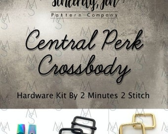 Central Perk Crossbody - Sincerely, Jen - Hardware Only
