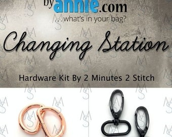 Changing Station - ByAnnie - Hardware Kit by 2 Minutes 2 Stitch