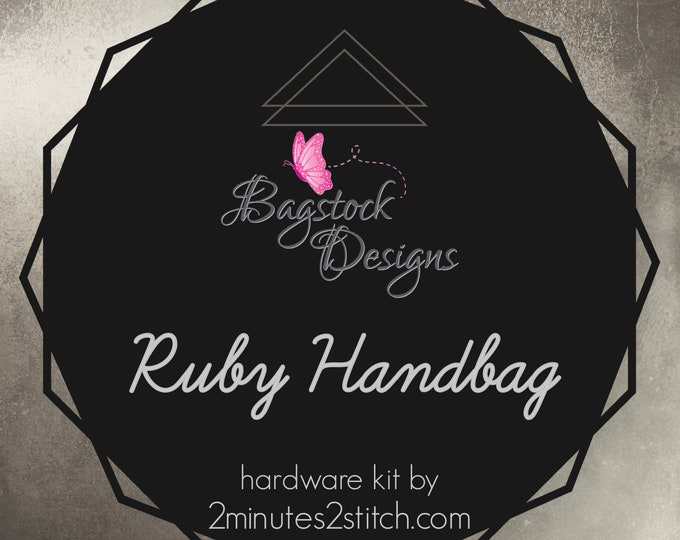 Ruby Handbag - Bagstock Designs - Hardware Kit Only