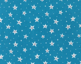 Road Trip by Michael Miller - Goodnight Twinkle - Cotton Woven Fabric