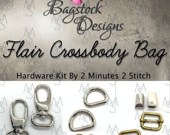 Flair Cross Body Bag - Bagstock Designs - Hardware Kit Only