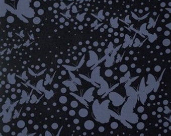 Moonshine by Tula Pink - Swarm Indigo PWTP059 - Cotton Woven Fabric