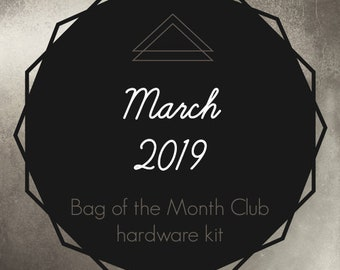 Bag of the Month Club - March 2019 Hardware Kit - Janelle MacKay of Emmaline Bags