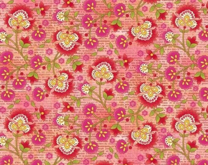 Jardiniere by Studio E - Jacobean Vine - Cotton Woven Fabric