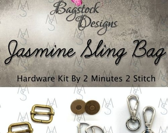Jasmine Sling Bag - Bagstock Designs - Hardware Kit Only