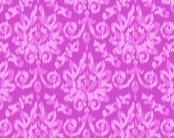 Flower Power by Patrick Lose - Ikat Chenille Lavender - Cotton Woven Fabric