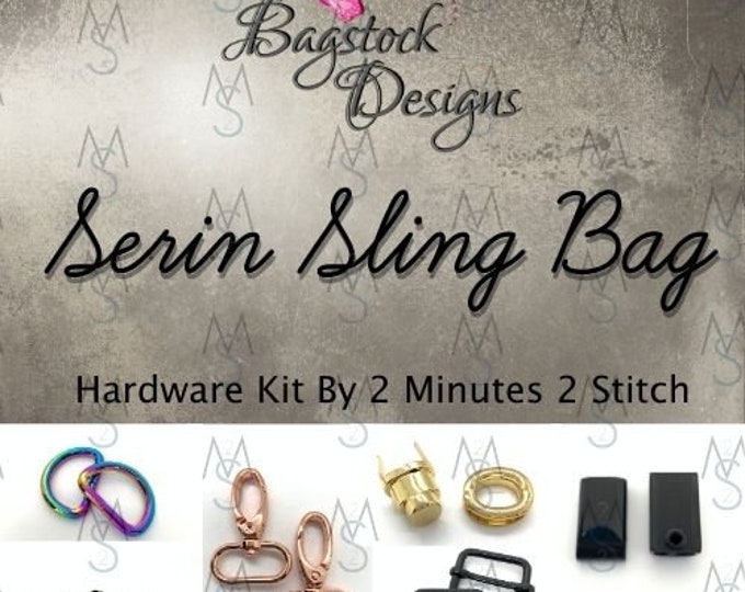Serin Sling Bag - Bagstock Designs - Hardware Kit Only