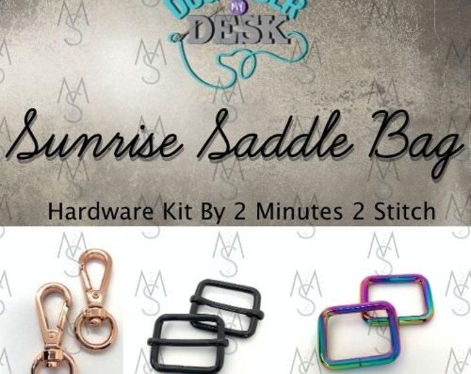 Sunrise Saddle Bag - Dog Under My Desk Hardware Kit