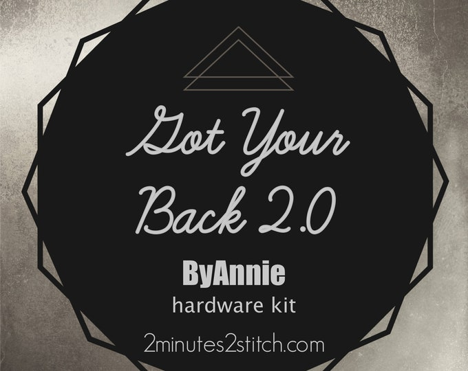 Got Your Back 2.0 Bag ByAnnie - Hardware Kit Only