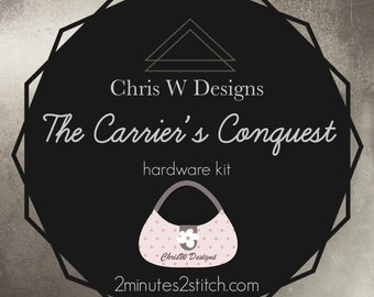 Carrier's Conquest Bag Hardware - ChrisW Designs - Hardware Kit Only